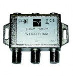 GLOBAL F008015-V3 2 WAY DISEQC SWITCH