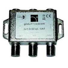 GLOBAL F008015-V3 2 WAY DISEQC SWITCH