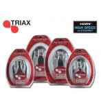 TRIAX 370715 1.5M HDMI HSCABLE+Ethernet