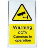 Triax CCTV Warning Sign