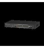 Dahua 16-Port FE PoE+ 1-Port Gigabit Combo PoE Switch