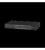 Dahua 24-Port FE PoE+ 1-Port Gigabit Combo PoE Switch