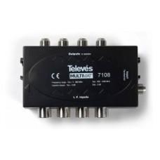 Televes 7102 4 way TER-SAT INDOOR COMBINER